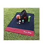 Irra Bay Ultra Compact Pocket Blanket for Beach Picnic Hiking - (Room for 2 to Lay, Up to 4 can Sit)