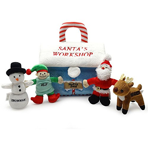 Baby's My First Christmas Santa's Workshop Playset