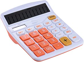 $44 » YICHOU Handheld Mini Calculator Office Electronic Calculator (Color : Orange, Size : A)