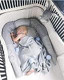 Bettschlange,Baby Bettumrandung Kinderzimmer Deko Junge Babybett Umrandungen nestchenschlange babynestchen