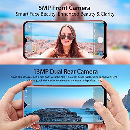 Blackview A60 Smartphone ohne Vertrag Günstig 15,49 cm (6,1 Zoll) HD+ Display, 4080mAh Akku, 13MP+5MP Dual Kamera, 16GB ROM, 128 GB erweiterbar Dual SIM Android Einsteiger Handy - Deutsche Version - 3