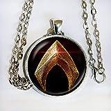 Aquaman inspired logo pendant necklace - HM