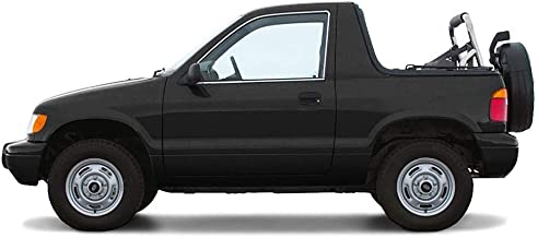 AutoBerry Compatible with KIA SPORTAGE 1996-2002 Convertible Soft Top Replacement (Charcoal Window)