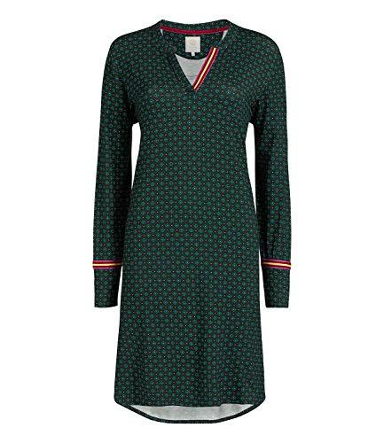PiP Studio Damen Nachthemd Dietse Jasmin Nightdress Long Sleeve 260896, Wäschegröße:S