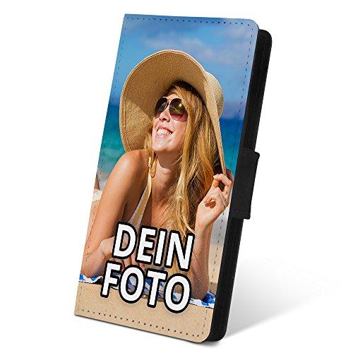 PhotoFancy ® – Samsung Galaxy S8 Hülle mit eigenem Foto Bedrucken – Smartphone Case als personalisierte Schutzhülle (Flipcase)