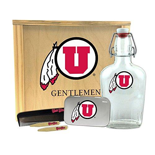 Worthy Promotional Wildcats - Caja de Regalo para Hombre de NCAA Kentucky Wildcats (1-250 ml, 2 estanterías de latón, 1 Lata de Menta Grande, 1 Peine), Hombre, UT-UUT-GK2, Canela, 10' x 9' x 3.75'