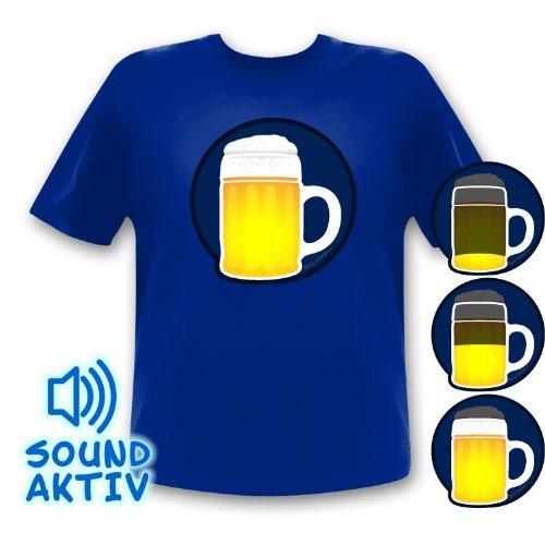 Cerveza Party Camiseta Camiseta de led Oktoberfest