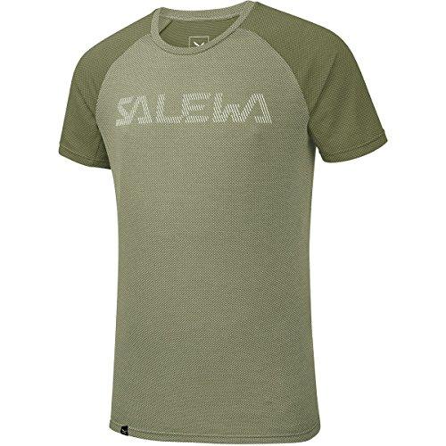 Salewa Pedroc Delta Dry M S/S T-Shirt pour Homme, Homme, Tricot, 00-0000026443_44/XS, Vert (Oil Green/5876), 44/XS