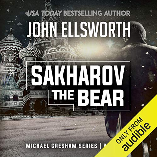Sakharov the Bear audiobook cover art