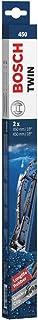 Escobilla limpiaparabrisas Bosch Twin 450, Longitud: 450mm/450mm – 1 juego para el parabrisas (frontal)