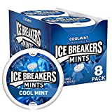 ICE BREAKERS Sugar Free Mints, Coolmint, 1.5 Ounce (Pack of 8) from The Hershey Company