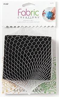 Fabric Creations Block Printing Sponge Cubes, 26995 (4-Pack)