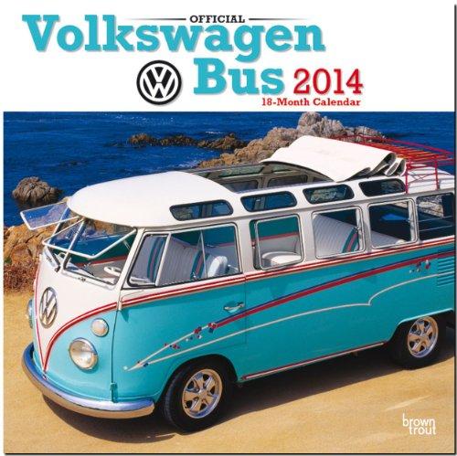 Volkswagen Bus 2014 - VW Bully: Original BrownTrout-Kalender [Mehrsprachig] [Kalender]