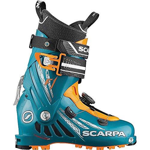Scarpa Herren F1 Skischuhe Petrol Blue/Orange 27