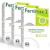 Fertimax 2 | Complément Alimentaire Fertilité Pour La Qualité Du Sperme | Combinaison Optimisée D'Antioxydants & De...