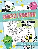 Unisci i puntini: per bambini e ragazzi: Libro delle attività: Età 3-10