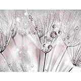 Fototapete Blumen Pusteblume 352 x 250 cm - Vlies Wand Tapete Wohnzimmer Schlafzimmer Büro Flur Dekoration Wandbilder XXL Moderne Wanddeko - 100% MADE IN GERMANY - 9436011a