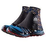 Keep outdoor 1 Pair Low Trail Running Gaiters Sandproof Ankle Gaiters Lightweight Protective...