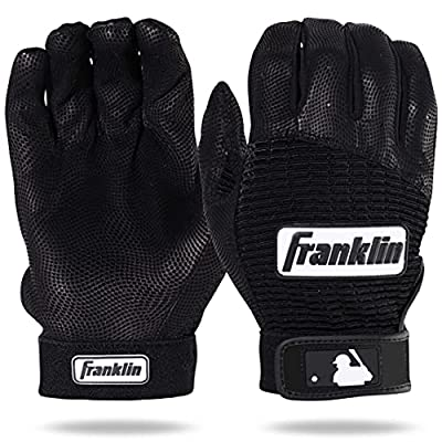 Franklin Sports MLB Pro Classic Baseball Batting Gloves ? Adult and Youth Sizes ? Premium Pro Grade Quality Leather ? Exceptional Breathability