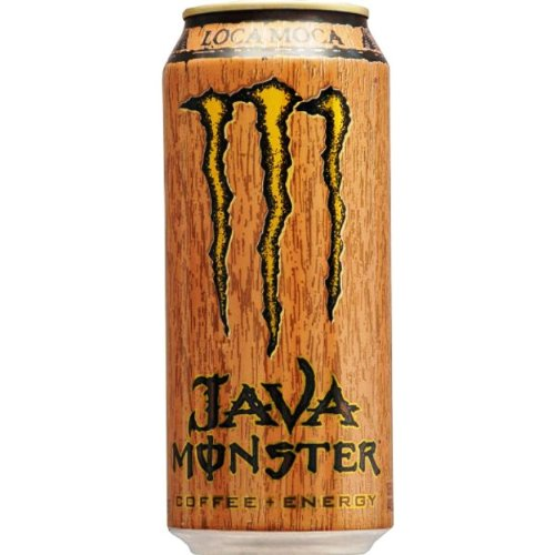 Java Monster Coffee + Energy Drink, Loca Moca, 15 Fl Oz (Pack of 24)