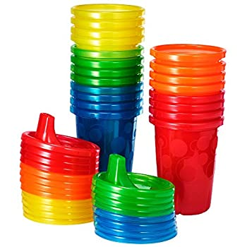 The First Years Take & Toss Spill Proof Sippy Cups Value Pack Rainbow 20-Pieces