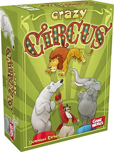 Asmodee - CRACI01 - Jeu d'ambiance - Crazy Circus