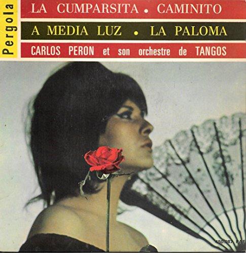 TANGOS - La Cumparsita / A Media Luz / Caminito / La Paloma [Vinyle 45 tours 7