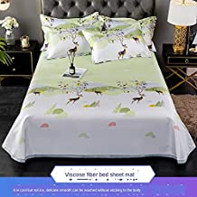 Summer Cool Sleeping Mat and Breathable Ice Silk Cold Sheets Pillowcase Mattress Can Be Washed and Folded,007,2m
