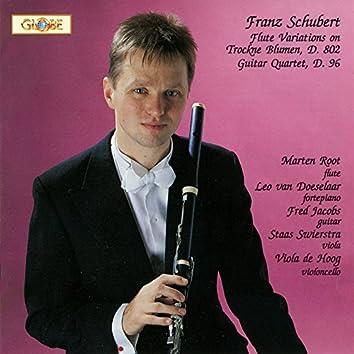 Schubert: Flute Variations, D. 802 & Guitar Quintet, D. 96