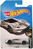 Hot Wheels 2017 Nightburnerz '17 Ford GT 211/365, Silver
