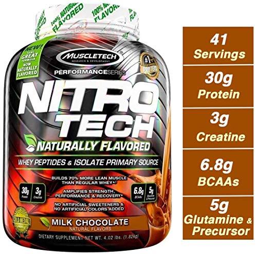 Muscletech Nitrotech Performance Series 3.97 lbs Milk Chocolate