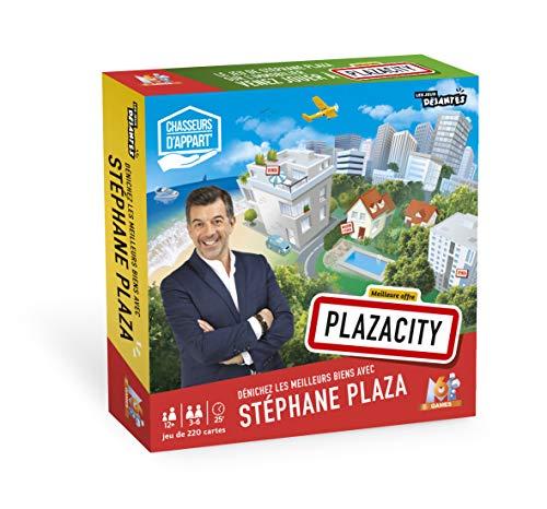 Les jeux Déjanté PlazaCity Chasseurs D'Appart-Stéphane Plaza-Le grand jeu de l'immobilier M6, 130008231, Cartamundi