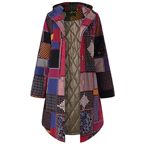 QUICKLYLY Abrigo Invierno Mujer Chaqueta Suéter Jersey Mujer Cardigan Mujer Tallas Grandes...