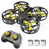 SNAPTAIN H823H Mini Drone per Bambini, Funzione Lancia&Vola, Funzione Hovering, modalità Senza...