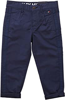 Tommy Hilfiger TH Cool Pleated Chino Tape Pants Pantalones para Niños