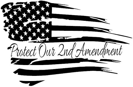 American flag  We the people  constitution  2nd amendment  vinyl die cut  sticker  decal  Pledge of Allegiance  distressed weathered