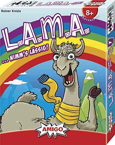 LAMA - Grundspiel - Kartenspiel | DEUTSCH | Nominiert zum Spiel des Jahres 2019