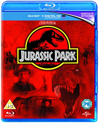 Jurassic Park [Edizione: Regno Unito] [Reino Unido] [Blu-ray]