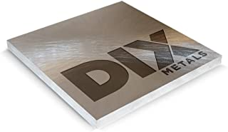 DIX Metals- .125 x 12 x 12 6061-T6 Precision Ground Machine-Ready Blanks