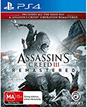 Assassin's Creed III Remastered & Liberation Remastered PS4