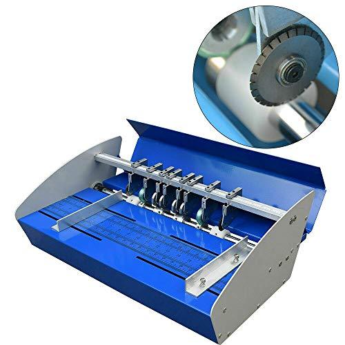 """18"""" Rillmaschine Elektrische 46CM Nutmaschine Perforiergerät Creasing Maschine Falzmaschine,für Karten, Einladungen, Buchumschläge, Tickets, RSVP Antworten"""