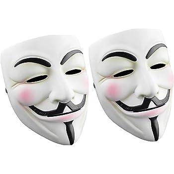 Halloween Mask 2020 V Amazon.com: Cataixy Hacker Mask v for Costume   Anonymous Mask V