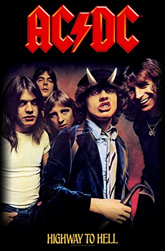 Highway to Hell Textil Poster [Import]
