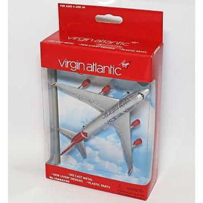 "Real Toys VAA6264 Virgin Boeing 747 ""Toy Plane"" Diecast Model"