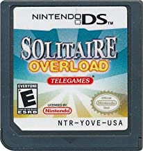 Solitaire Overload for Nintendo DS - BRAND NEW GAME CARD ONLY