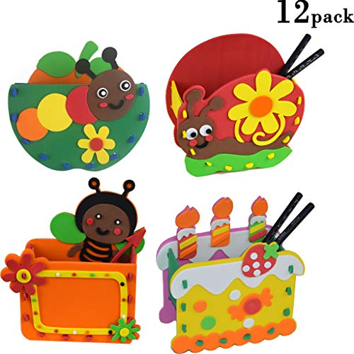 3D Creativity Art and Craft Kits for Kids 12 Pack