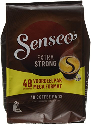 Senseo Coffee Pods - 48 Pods - Different Flavor - Imported From Netherlands (Extra Dark Roast, 48) by Senseo
