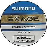 Shimano Exage 1000m 0,405mm 12,90kg Angelschnur Monofile Schnur Monoschnur Monofil Mono Line