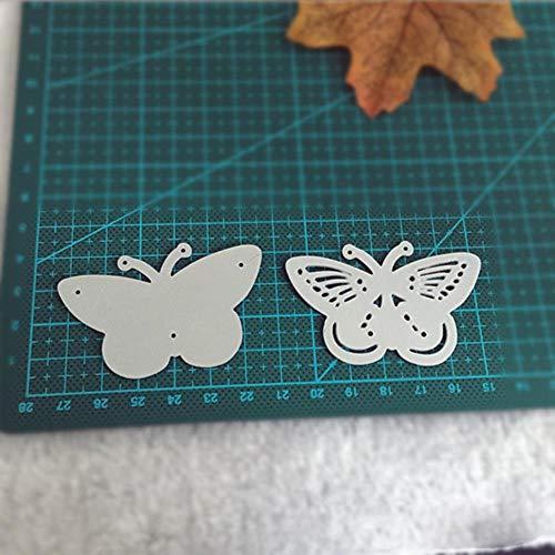 Vlinder Metaal snijden Dies Stencils voor DIY Scrapbooking Stempel/Foto Album Decoratieve Embossing DIY Papieren Kaarten Eén maat Vlinder
