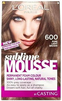 Loreal paris - Sublime mousse, tinte para el pelo, color 600 ...